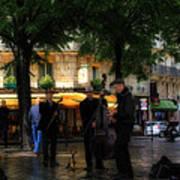 Paris Musicians Poster