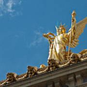 Paris Opera House V   Exterior Facade Poster