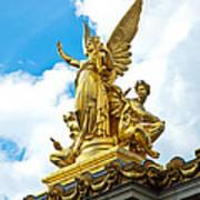 Paris Opera House Vi  Exterior Facade Poster