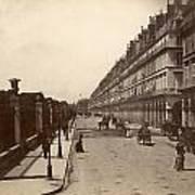 Paris: Rue De Rivoli, C1900 Poster