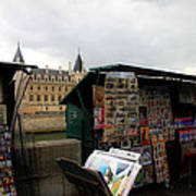 Paris Street Vendor 2 Poster