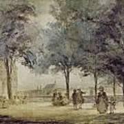 Paris: Tuilerie Gardens Poster