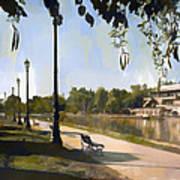 Park San Martin Mendoza Argentina Poster