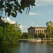 Parthenon At Nashville Tennessee 10 Poster by Douglas Barnett