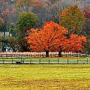 Pastoral Autumn Poster
