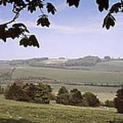 Pastoral Scene In Hampshire Poster