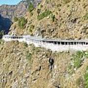 Path Leading To The Shrine Of Vaishno Devi Poster