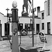 Paul Bunyan Atop Gas Station, Bemidji Poster by Everett