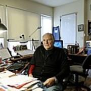 Paul Ekman, American Psychologist Poster by Volker Steger