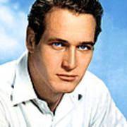 Paul Newman, Portrait Ca. 1950s Poster by Everett