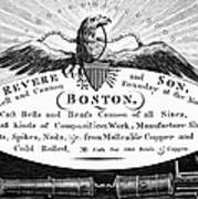 Paul Revere: Trade Card Poster