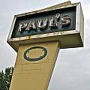 Paul's O Poster