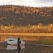 Peaceful Harding Lake Poster