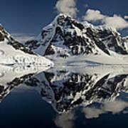 Peaks Along  Neumayer Channel Poster