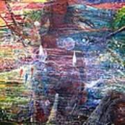 Pearl Od Thw Caribbean - La Perla Del Caribe Poster by Miguel Conesa Osuna