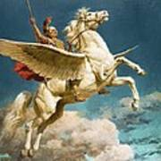 Pegasus The Winged Horse Poster