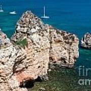 Peidades Coast Portugal Poster