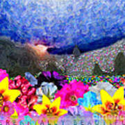 Perennially Beautiful II Poster
