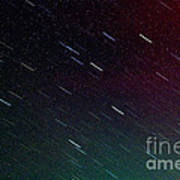 Perseid Meteor Shower Poster by Thomas R Fletcher