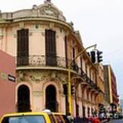 Peruvian Streets Poster