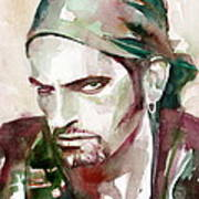 Peter Steele Portrait.6 Poster