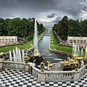 Peterhof Palace 16x9 Poster