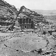 Petra, Jordan Poster by Photo Researchers