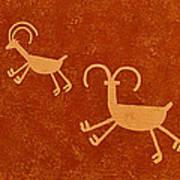 Petroglyph Artwork Poster