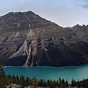 Peyto Lake - Canadian Rocky Mountains Poster