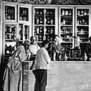 Pharmacy C. 1900 Poster