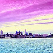 Philadelphia Morning View Poster