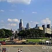 Philadelphia Skyline 5 Art Museum Poster