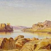Philae - Egypt Poster by Edward Lear