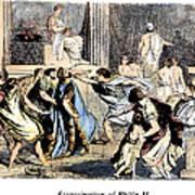 Philip II (382-336 B.c.) Poster