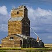 Photograph Of A  Prairie Barn Poster