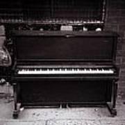 Piano Bar- Tallulah Louisiana Poster