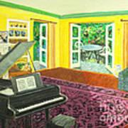 Piano Room Variation I Poster