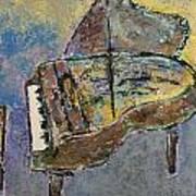 Piano Study 3 Poster