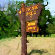 Picnic Area Poster