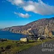 Picnic Time At Slieve League Ireland Poster