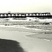 Jacksonville Beach Florida Pier 1997 Poster