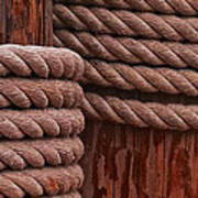 Pier Ropes II Poster