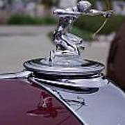 Pierce Arrow Hood Ornament Poster