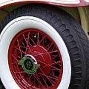 Pierce Arrow Wheel Poster