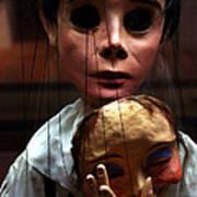 Pierrot Puppet Poster