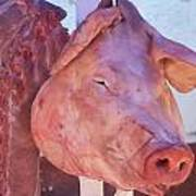 Pig In The Market Poster
