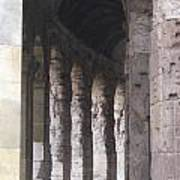 Pilars In Rome Poster