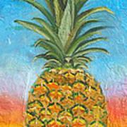 Pineapple Sunrise 2 Or Pinapple Sunset 2 Poster