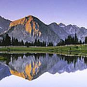 Pioneer Basin Morning Panorama Poster