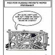 Piss Poor Planning Poster